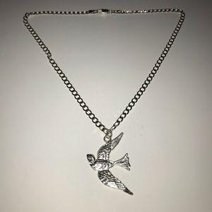 925 Bird Necklace